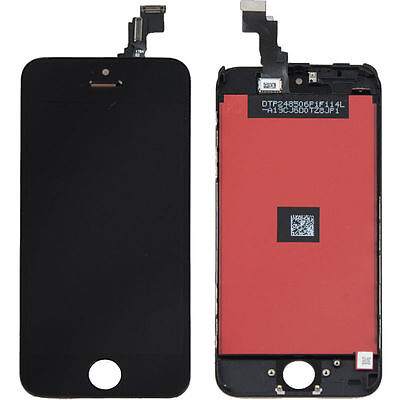 LCD Lens Touch Screen Display Digitizer Assembly Replacement for iPhone 5C Black on Rummage