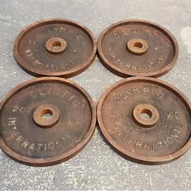 4 x 20KG Olympic International weight plates