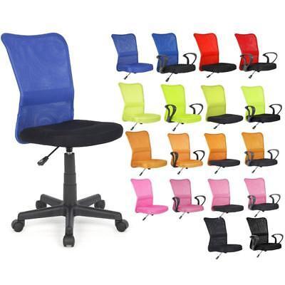 SixBros. Bürostuhl Drehstuhl Schreibtischstuhl Mesh Netzstoff Farbwahl H-298F