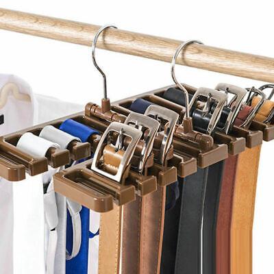 Krawattenbügel Krawattenhalter Krawatten Gürtelhalter Kleiderständer Lagerung up (Note Kleiderbügel)
