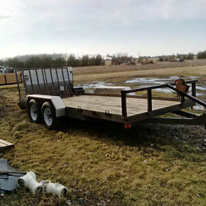 REDUCED Good Solid Utility Trailer