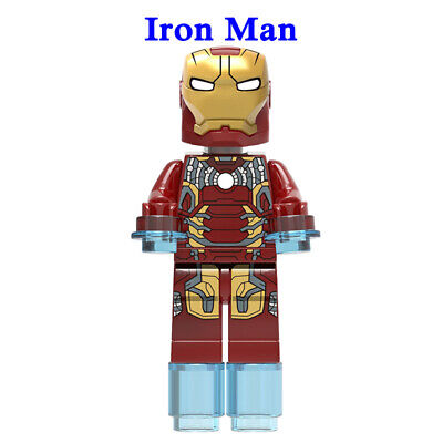 Iron Man End Game Avengers Nuovo in Blister Minifigures Compatibile LEGO