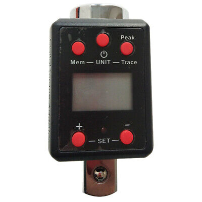 Digital Torque Meter Torque Wrench Tester Testing Machine 34 100-500nm Portable