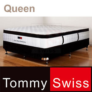 QUEEN MATTRESS: PREMIUM POCKET SPRING WITH LATEX + EURO TOP (207Q)