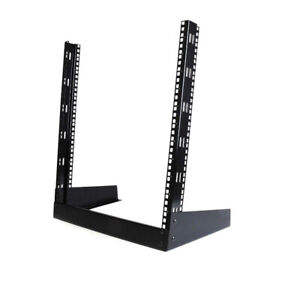 StarTech 12U open frame 2 post desktop rack