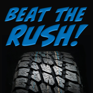 Tire Install & Balanced Spring Special!