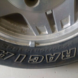 235/75R15 M/S Tires and rims