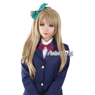 Perücke 70cm Halloween Lovely Manga Love Live! Minami Kotori Cosplay Sedige Haar