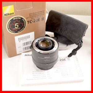 Nikon Nikkor TC-20E III 2X Teleconverter lens AF-S