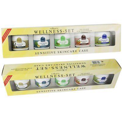 5 tlg Creme Wellness Aloe Vera Avocado-Öl Jojoba-Öl Mandelöl Oliven-Öl Sensitive - Olive Avocado