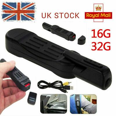 UK Audio Video HD Recording Cam Mini DVR 16/32GB COVERT HIDDEN SPY CAMERA PEN UK