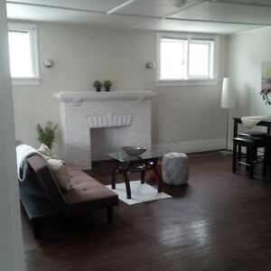 Large 2 Bedroom + Finished Basement in Century Home Downtown