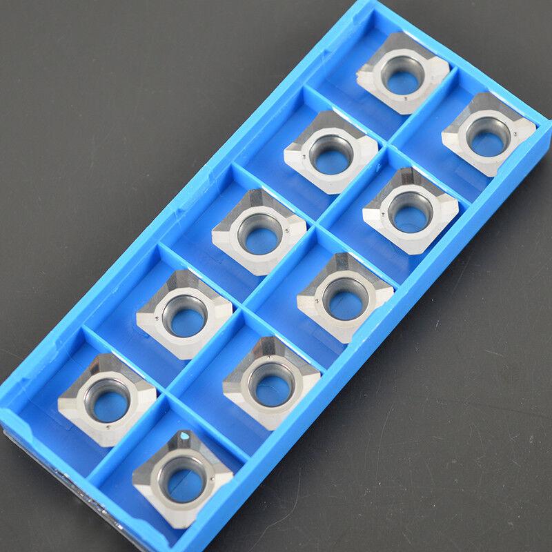 10pcs Korloy TCGT110208-AK H01 TCGT21.52-AK H01 Aluminum inserts