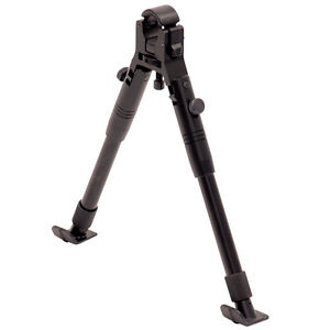 UTG New Gen Clamp on Bipod with Steel Feet, 8.7Inch-10.2-Inch
