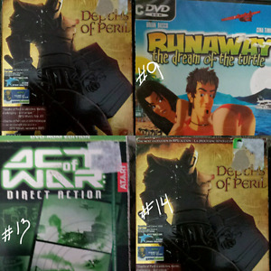 Brand New! DVD PC GAMES  (16)