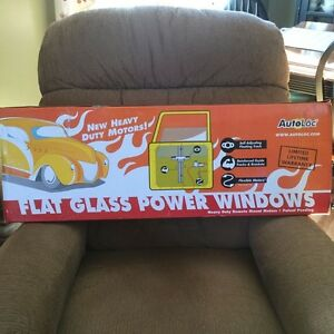 Flat Glass Power Window Kit