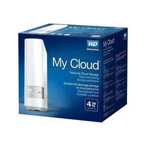 Disque dur sans-fil wifi WD My Cloud 4To