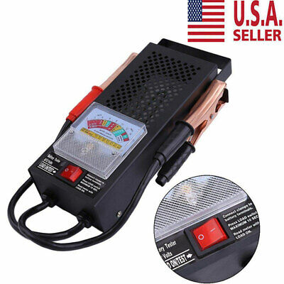 Battery Load Tester 100 Amp Load Type 6V & 12V Mechanics Car Truck USA