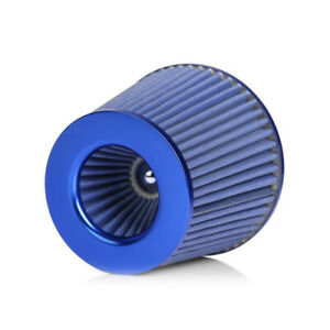Universal 3Inch 75mm High Flow Short Cold Intake Air Filter