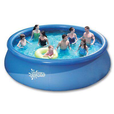 Quick UP Pool 4.57 m x 1.07 m Swimmingpool Schwimmbecken Gartenpool Ringpool