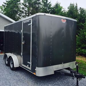2016 Forest River  7'x14' tandem cargo trailer