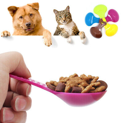 Pet Mini Food Spoon Cat Dog Puppy Feeding Scoop Tool Shovel Feeder Hang Scooper