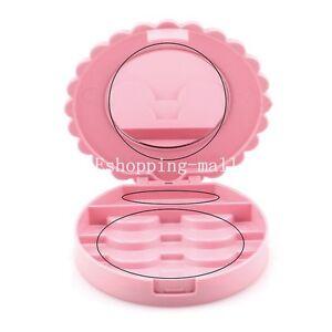 Beauty Makeup Tool Mirror Case False Eyelash Box Lashes Storage Organizer