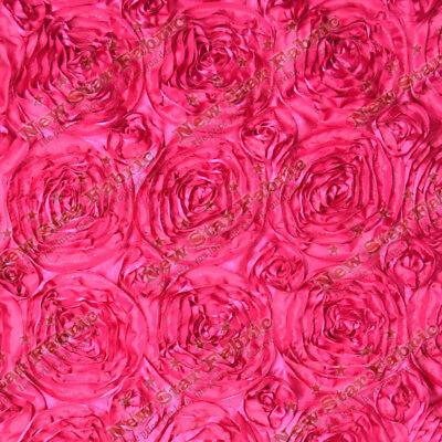 Pink Satin Rosette - 5 Yards 54