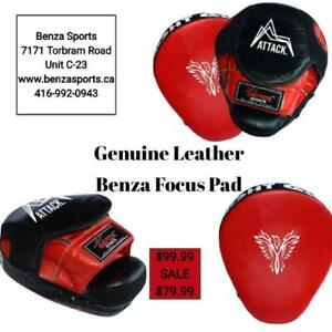FOCUS PADS, BOXING PADS, HAND TARGET, HAND SQUARE TARGET, KICKING TARGETS, FLOPPY TARGET Starting From