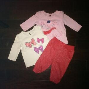 Gently Used 3 month Baby Girl Clothes London Ontario image 3