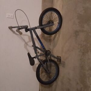 BMX bike with helmet (for junior, about 7 years old)