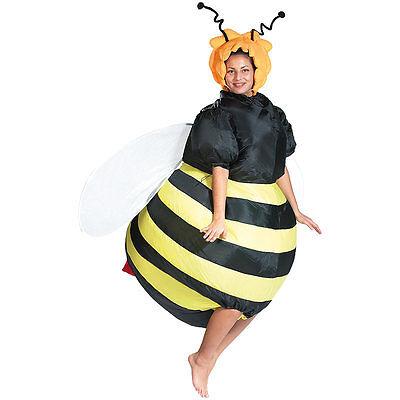 Erwachsene Bienen Kostüme (Luftkostüm: Selbstaufblasendes Kostüm