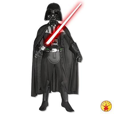 RUB 3882014 Star Wars Kinder Kostüm Darth Vader Deluxe + Maske - Darth Vader Deluxe Kostüm Kinder
