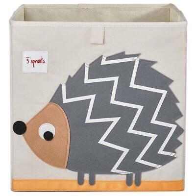 3 Sprouts Aufbewahrungsbox für Kinderzimmer Igel, Faltbox, Regalbox ()