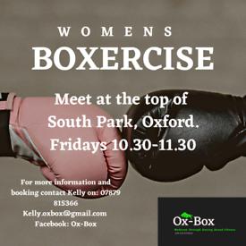 Women's boxercise