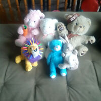 Lot of stuffed toys #1