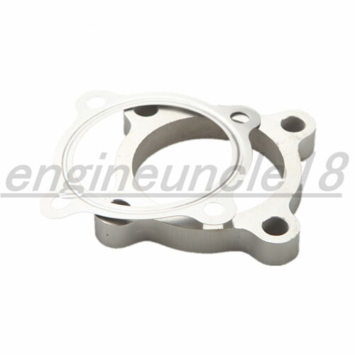 """SS304 2.5"""" 4 Bolt T3 50AR T3/T4 GT35 T3 Turbo Exhaust Downpipe Flange+Gasket"""