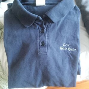 MARIE RIVIER GIRL'S SCHOOL UNIFORM SHIRT