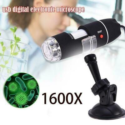10001600x Usb Zoom 8led 2mp Microscope Digital Magnifier Endoscope Camera1080p