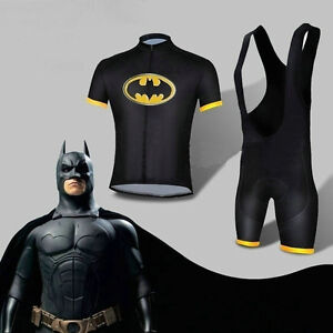 2014-Hot-Batman-Costume-Cycling-Kits-Bicycle-Suits-Short-Jersey-Bib-Short-S-XXL