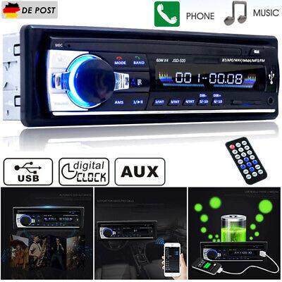 Bluetooth Car Autoradio 1 DIN MP3/USB/SD/AUX-IN FM Radio Player NEU