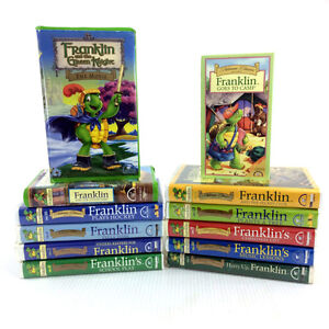 12 Franklin The Turtle VHS Tapes 32 Cartoon Episode Bourgeois