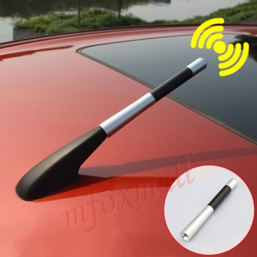 Universal Car Amplifier Aerial AM FM Radio Antenna Roof Signal Trim Accessories