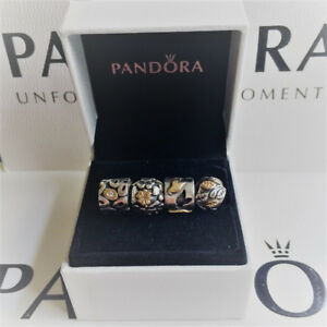 Authentic Pandora Retired Two Tone Charms