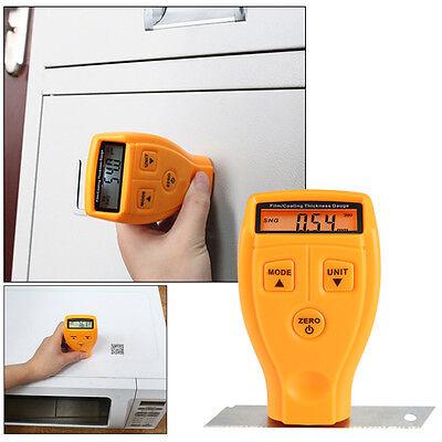 Thickness Gauges Meter Handheld Schichtdickenmessgerät Batterien inkl. 0 - 1.8mm