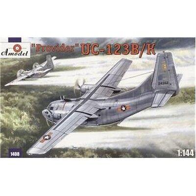 - UC-123K 'PROVIDER' USAF AIRCRAFT (CHASE AIRCRAFT COMPANY) 1/144 AMODEL 1408
