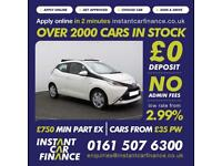 Toyota AYGO 1.0 VVT-i ( 68bhp ) x-shift FROM £49 PER WEEK
