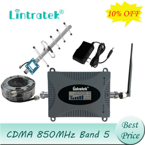 Signal Booster 850MHz CDMA/Band 5 Cell Phone Mobile Repeater