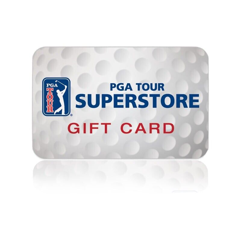 pga tour superstore Gift Card VALUE $25