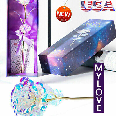 Galaxy Rose with Love Base ⭐ Best - Selling ⭐ US Stock - FAST FREE
